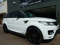 2014 LAND ROVER RANGE ROVER SPORT 5.0 V8 AUTOBIOGRAPHY DYNAMIC 5d AUTO 510 BHP £35995.00