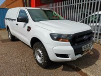 2016 FORD RANGER 2.2 XL Single Cab 4x4 Pickup *HARD TOP + FRONT WINCH* £11995.00