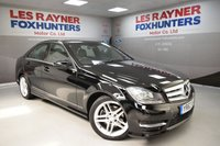 USED 2013 63 MERCEDES-BENZ C CLASS 2.1 C250 CDI BLUEEFFICIENCY AMG SPORT 4d AUTO 202 BHP Park sensors, Bluetooth, Cruise control, Great MPG, Low miles