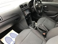 """USED 2010 A VOLKSWAGEN POLO 1.6 SE TDI 5d 74 BHP 18""""BLACK GTI STYLE ALLOYS NAV AND BLUETOOTH"""