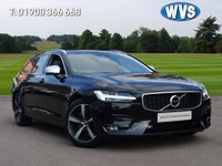 USED 2018 18 VOLVO V90 2.0 D5 POWERPULSE R-DESIGN PRO AWD 5d AUTO 231 BHP A gorgeous high specification June 2018 4x4 AUTOMATIC ESTATE VOLVO V90 2.0d5 Power Plus R Design Pro in black that is spacious and economical making this the perfect family car or motorway business vehicle.