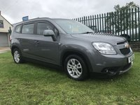 2011 CHEVROLET ORLANDO 2.0 LT VCDI 7 SEATS 53000 MILES FSH 2 OWNERS  £4995.00