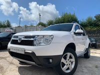 USED 2013 13 DACIA DUSTER 1.5 LAUREATE DCI 5d 107 BHP 2KEYS+ALLOYS+CLEAN CAR+MEDIA+HISTORY+1 OWNER+USB+AIRCON+USB+CD+