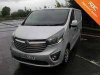 USED 2015 65 VAUXHALL VIVARO 1.6 2900 L2H1 CDTI SPORTIVE  114 BHP LWB VAN - NO VAT Only 25000 miles, Service History, Air Con