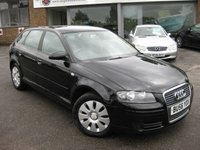 USED 2006 56 AUDI A3 1.6 SPECIAL EDITION 8V 5d 101 BHP Air conditioning. Full Service History. Alloy wheels. New MOT on sale. Beautiful condition throughout.