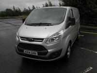 2014 FORD TRANSIT CUSTOM 2.2 270 TREND LR P/V 1d 99 BHP Van - NO VAT £11495.00