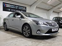 USED 2013 13 TOYOTA AVENSIS 2.0 D-4D ICON 4d 124 BHP
