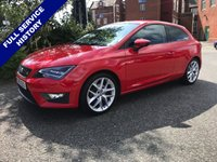 USED 2015 65 SEAT LEON 1.4 TSI FR TECHNOLOGY 3d 150 BHP