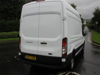USED 2017 17 FORD TRANSIT 2.0 350 L3 H3 P/V DRW 1d 129 BHP - SOLD 34000 miles, Service History, Air Con