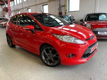 2012 FORD FIESTA 1.6 ZETEC S 3d 118 BHP £5995.00