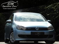 USED 2012 12 VOLKSWAGEN GOLF 1.6 S TDI BLUEMOTION 5d 103 BHP FSH OVER 50 MPG A/C VGC