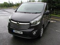 2016 VAUXHALL VIVARO 1.6 2900 L2H1 CDTI P/V SPORTIVE 1d 114 BHP LWB Van - NO VAT £10495.00