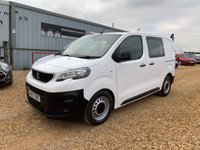 USED 2017 67 PEUGEOT EXPERT 1.6 BLUE HDI PROFESSIONAL COMPACT CREW VAN 1d 95 BHP