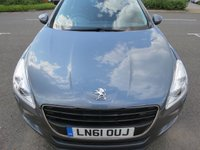 USED 2011 61 PEUGEOT 508 2.2 GT HDI 4d AUTO 200 BHP