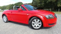 USED 2004 AUDI TT 1.8 ROADSTER 2d 148 BHP ALLOY-WHEELS, AIR-CONDITIONING, CD-PLAYER, REMOTE LOCKING, ELECTRIC WINDOWS, ELECTRIC ROOF, ELECTRIC MIRRORS, DRIVES SUPERB, NATION WIDE DELIVERY,
