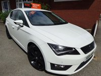 2014 SEAT LEON 1.4 TSI ECO FR TECHNOLOGY 5d 150 BHP Full Tech Pack Car £9999.00