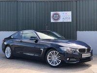 USED 2014 02 BMW 4 SERIES 2.0 420D LUXURY 2d 181 BHP