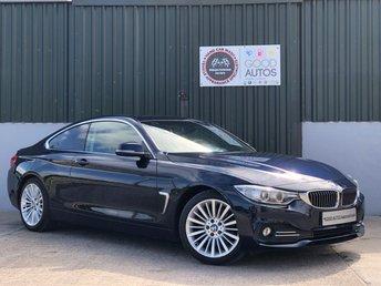 2014 BMW 4 SERIES 2.0 420D LUXURY 2d 181 BHP £13995.00