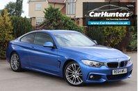 USED 2015 64 BMW 4 SERIES 2.0 420I M SPORT 2d AUTO 181 BHP