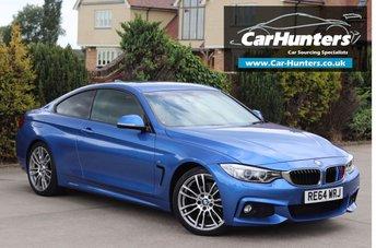 2015 BMW 4 SERIES 2.0 420I M SPORT 2d AUTO 181 BHP £17495.00