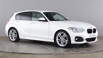2016 BMW 1 SERIES 2.0 120D M SPORT 5d 188 BHP £13990.00