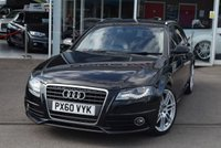 USED 2010 60 AUDI A4 2.0 AVANT TDI S LINE SPECIAL EDITION 5d 141 BHP FINANCE TODAY WITH NO DEPOSIT