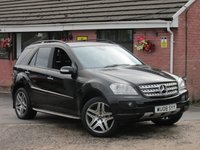 2008 MERCEDES-BENZ M CLASS ML280 CDI EDITION S (UPGRADED ALLOYS) AUTO 5dr £6990.00