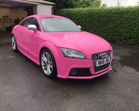 USED 2010 10 AUDI TT TTS TFSI QUATTRO ONE OF A KIND AUDI TTS QUATTRO FINISHED IN AUDI EXCLUSIVE CUSTOM PAINT ERICA VIOLET PINK STUNNING LOOKING CAR FIND ANOTHER ONE !!!!!!!!