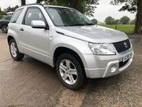 2007 SUZUKI GRAND VITARA 1.6 VVT PLUS 3d 105 BHP £2695.00