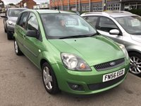 USED 2007 56 FORD FIESTA 1.2 ZETEC CLIMATE 16V 5d 78 BHP Excellent example, 5 door, alloys, air/con, not to be misssed.