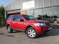 USED 2013 63 LAND ROVER FREELANDER 2.2 TD4 GS 5d 150 BHP LOW MILES, FULL SERVICE HISTORY, EXCELLENT CONDITION