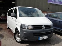 USED 2013 13 VOLKSWAGEN TRANSPORTER 2.0 T32 TDI 1d 140 BHP ANY PART EXCHANGE WELCOME, COUNTRY WIDE DELIVERY ARRANGED, HUGE SPEC