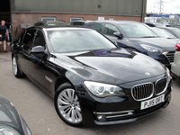 2015 BMW 7 SERIES 3.0 730LD SE EXCLUSIVE 4d AUTO 255 BHP £17480.00