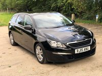 USED 2015 15 PEUGEOT 308 1.6 BLUE HDI S/S SW ACTIVE 5d 120 BHP