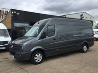 USED 2016 16 VOLKSWAGEN CRAFTER 2.0TDI CR35 TDI LWB H/ROOF 136BHP. AC. SENSORS. ALLOYS. PX AC. SENSORS. ALLOYS. LOW 48K. FVWSH. FINANCE. PX