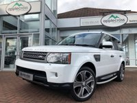 USED 2010 10 LAND ROVER RANGE ROVER SPORT 5.0 V8 HSE 5d AUTO 510 BHP ***ONLY 16000 MILES***