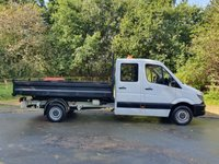 USED 2016 16 MERCEDES-BENZ SPRINTER 2.1 313 CDI CREW CAB MWB 130 BHP TIPPER SERVICE HISTORY RAC WARRANTY -LOW RATES ON FINANCE-NATIONWIDE DELIVERY