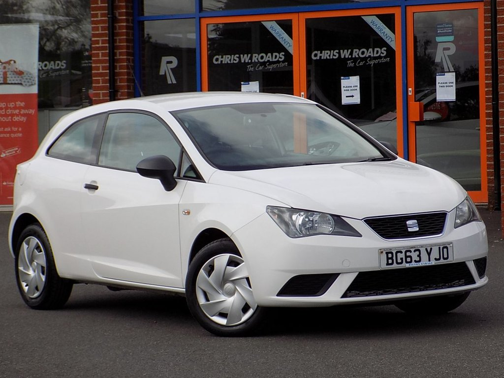 USED 2013 63 SEAT IBIZA 1.2 S 3dr (AC) **Great Value Hatchback**