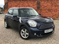 USED 2013 63 MINI COUNTRYMAN 1.6 ONE D PEPPER PACK.