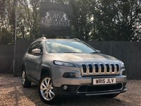 2015 JEEP CHEROKEE 2.0 M-JET LIMITED 5dr AUTO