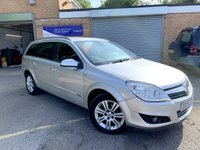 2009 VAUXHALL ASTRA 1.8 DESIGN 5d AUTO ESTATE, ONLY 59000 MILES, 8 SERVICES,  £2990.00