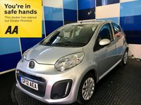 USED 2012 CITROEN C1 1.0 VTR 5d 67 BHP A really nice clean example of this small 5 door family favorite finished in silver metalic ,this car comes with electic front windows ,remote central locking,full size spare wheel,rev counter,air conditioning ,cd radio with aux input plus all the usual refinements. This car returns a very impressive combined ecconomy of 65.7 mpg ,along with zero rated road tax,and insurance group 3 make it an ideal first car for young drivers,deffinitely one to consider.