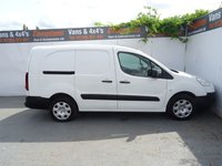 USED 2014 14 PEUGEOT PARTNER 1.6 HDI CRC 1d 90 BHP PEUGEOT PARTNER CREW CAB WITH REMOTE CENTRAL LOCKING