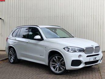 2015 BMW X5 3.0 XDRIVE40D M SPORT 5DR AUTO 309 BHP £30791.00