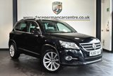 "USED 2010 60 VOLKSWAGEN TIGUAN 2.0 R-LINE TDI 4MOTION 5DR 168 BHP full service history * NO ADMIN FEES * FINISHED IN STUNNING BLACK WITH CLOTH UPHOLSTERY + FULL SERVICE HISTORY + CRUISE CONTROL + DAB RADIO + HEATED MIRRORS + FRONT/REAR PARKING SENSORS + AIR CONDITIONING + 19"" ALLOY WHEELS"