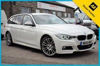 USED 2014 14 BMW 3 SERIES 2.0 320D XDRIVE M SPORT TOURING 5d 181 BHP