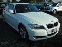 USED 2011 61 BMW 3 SERIES 2.0 320D EFFICIENTDYNAMICS 4d 161 BHP 1 Previous owner - Cheap road tax - Face lift model