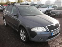USED 2008 58 SKODA OCTAVIA 2.0 SCOUT TDI 5d 138 BHP FSH - Timing kit changed - 4x4