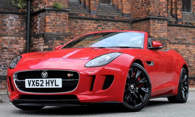 2013 62 JAGUAR F-TYPE 5.495 V8 S QUICKSHIFT 2dr [ PERFORMANCE SEATS ]