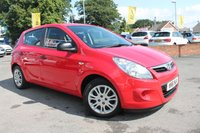 USED 2011 61 HYUNDAI I20 1.2 CLASSIC 5d 77 BHP EXCELLENT SERVICE HISTORY - 2 OWNERS - LOW MILES